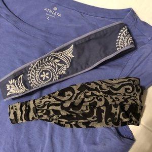 Accessories - 🛍 2 for $25! Athleta Headbands x2